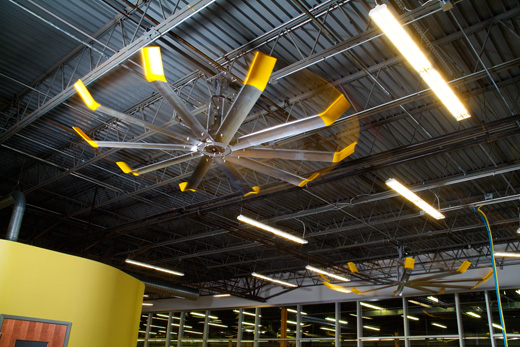 Houston Warehouse Fans G W Air Conditioning Services